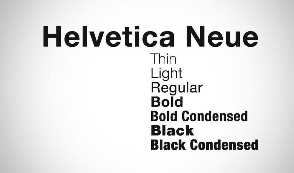 free download helvetica font family pack