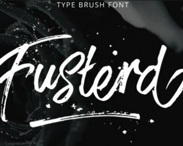 Brat-Brush Typeface