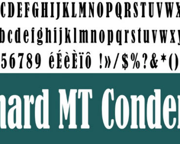 bernard-mt-condensed-font