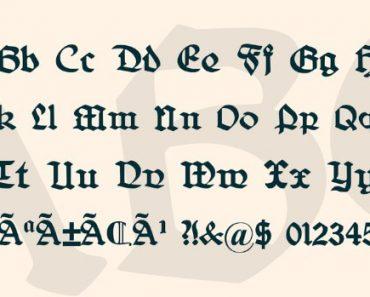 Belwe Font