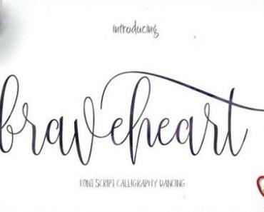 Braveheart Font